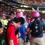 #CelebrationSaturday begins with Awards Ceremony! Good luck to all teams! #omgrobots #morethanrobots #FIRSTChamp https://t.co/I5qFW94qyk