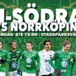 Nästa hemmamatch: Jönköping Södra - IFK Norrköping! När? Söndag 8/5 15:00 Var? Stadsparksvallen Ses där! #jsödra https://t.co/fGK9Tos8VZ