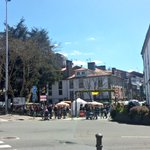 Rúa de San Pedro peonil Así debería ser sempre #FeiradaPrimavera @PazodeRaxoi Santiago de Compostela Porta do Camiño https://t.co/fUr9Yk4M3J
