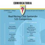 CONVOCATORIA| Fredi convoca a 16 xogadores para o partido ante o @realracingclub no Sardinero. https://t.co/ja2NkL47uY