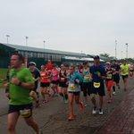 Steady rain for the marathon runners @ChurchillDowns. #24atChurchill https://t.co/yh5kmjtX8D