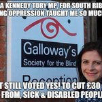 Put on a proper suit, do up your tie & sing the national anthem & cut ESA £30 pw Tories plan to cull disabled? https://t.co/0S1TA40cN8