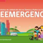 Recuerda que hoy se pronostica una calidad del aire en PREEMERGENCIA en Temuco y PLC. RT @marcopichunman https://t.co/cEf8bir4Hm