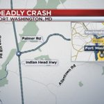 One Dead After Early Morning Crash in Prince Georges County https://t.co/tfQkGTKxLw #DC https://t.co/q6xdTMmT9C