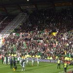 The Celts celebrate with the faithful travelling support. (MD) https://t.co/Sg4HrugRIy