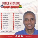 Junior concentró 18 jugadores para el partido de mañana frente a @ABucaramanga por la 16ª fecha de la @LigaAguila https://t.co/aX8SJKhpFZ