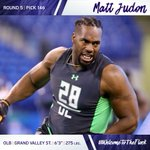 With the 146th overall selection, we've selected OLB Matt Judon from Grand Valley St. #WelcomeToTheFlock https://t.co/04gAj77ssd
