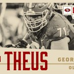 Welcome to the family, @jtheus71! #49ersDraft https://t.co/4cYmFKzA4j