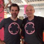 Wat is er mooier dan een #Griinta-shirt? Twee Griinta-shirts! @lvanbon @mtjallingii @Girogelderland @giroditalia https://t.co/dEvRPHVONf