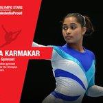 Lets cheer our 2016 Olympic stars . Heres Dipa Karmakar  #YouMakeUsProud https://t.co/j9f3klnu4S