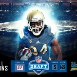 From #UCLA to New York. Congrats to the newest member of the @Giants @Prime_Perk_24. #NFLBruins #NFLDraft https://t.co/0DU8lCOHw3