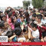En el festejo del #DíaDelNiño con las y los pequeños de trabajadores sindicalizados del @Imss_Pue  #PensandoEnTodos https://t.co/PyM4EpJ0xz