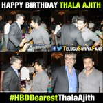 "Wishing ""Thala"" Ajith Sir a Very Happy Birthday on Behalf of All @Suriya_offl Fans...!!! #HBDDearestThalaAjith https://t.co/V6TwMi3mdl"