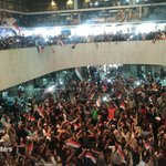 Hundreds of protesters stormed Baghdad's Green Zone and entered the Parliament building https://t.co/qNnXECObVO https://t.co/Ukb111Tgue