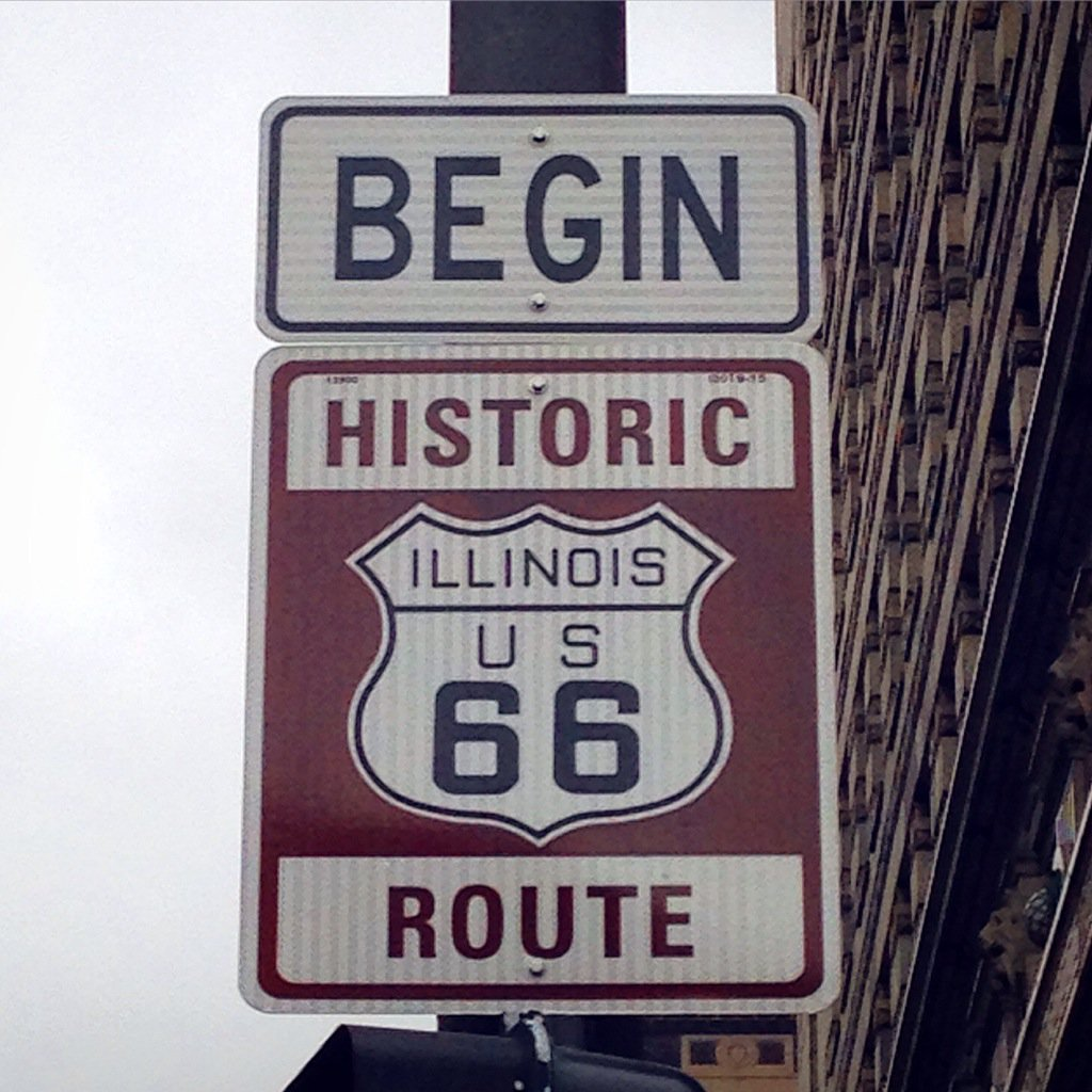 Did you know Historic #Route66 starts right here in #Chicago at Michigan and Adams and stretches 2,500 miles to LA? https://t.co/L9Y4CV8hL9