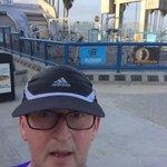 Fantastic 6m run along Venice beach to Santa Monica pier this morning @RunHackney #ukrunchat #la https://t.co/v9RBpmGfEw