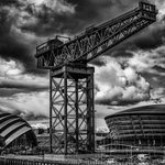 A true #Glasgow icon, the Finnieston crane towers above the River Clyde. #IAD2016 ???? IG/kennybrownphoto https://t.co/W5wf5I4eho