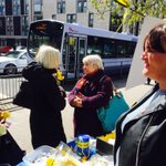 @SNPKelvin out +about in Partick. Really warm reception from local folk for @SandraWhiteSNP ???????????? #BothVotesSNP #SP16 https://t.co/pMVYziwFvj