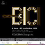El 8 de mayo a las 12:00 h se inaugura la exposición: #LaVueltaALaBici en El Amate https://t.co/VsNNDDEhlU #Morelos https://t.co/tlbWQignib