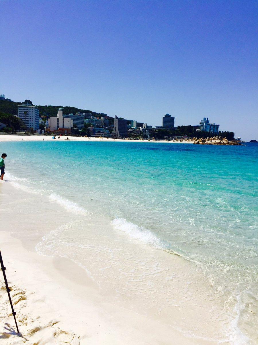 5月3日に、本州でいちばん早い海開きを迎える白良浜。今年は『泡ビーチin南紀白浜』のイベントも同時開催(^ ^)https://t.co/tSZEUqfXon https://t.co/pkqFTMMZ04
