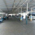 Así se encuentran los espacios del terminal de pasajeros , luegos de la jornada de limpieza @alfreditodiaz https://t.co/fVY4qji8mg