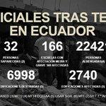 Presidente @MashiRafael da a conocer las cifras oficiales tras el terremoto del 16 de abril @Seguridad_Ec #Enlace473 https://t.co/VjbbdaoX2i