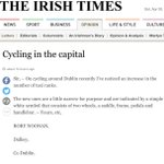 #FreeTheCycleLanes themed letter in todays @IrishTimes - #PaintAintEnough ? #DublinCycling https://t.co/dDStQd3MAO