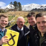 Out in #Crianlarich on our Stirling Highland tour of the #SP16 campaign with @RHBruceCrawford @Steven4Stirling https://t.co/VAbHCGEaNT