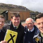 Stirling Highland tour with @RHBruceCrawford @lxrobb @AodhanByrne #Tyndrum #VoteSNP #SP16 https://t.co/JykR5wrUc3