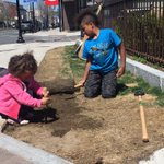 Kids pitching in to make Somerville green. https://t.co/GNQONY7Ox9