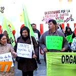 Docentes sindicalistas protestaron por separado, piden la renuncia de Marta Lafuente #MeridianoPy https://t.co/77FCDX62Ir