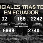 @MashiRafael da a conocer las cifras oficiales tras el terremoto del 16 de abril @Seguridad_Ec #Enlace473 @UNSIONTV https://t.co/dRWSqugk2a