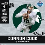 Connor Cook. Welcome to The Black Hole. #NFLDraft https://t.co/8tVLzhXmhN