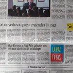 La Paz, dos versiones enfrentadas, de @RoyBarreras y @jflafaurie en @ELTIEMPO @PlanetaLibrosCo @FILBogota https://t.co/Sk1MVj3U60