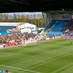 Brilliant turnout by the 2,283 Oxford fans at Carlisle (270 mile each way trip). https://t.co/5eJNeQAvjr
