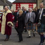 #camelon #royalbritishlegoin #falkirk #scotland Pat Reid and Major Campbell heading to the new Camelon memorial https://t.co/3D7SjAtG5r