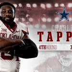DRAFTED. Charles Tapper is officially a Cowboy!! #OUDNA in Dallas ???? More ➡️https://t.co/HpmjexbDfm https://t.co/cQx7xuvGBk