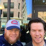 Mark Wahlberg has been seen around Boston this morning shooting for #PatriotsDay & @WahlburgersAE. https://t.co/2lSMYhHdBD