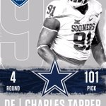 Congrats @Takeflightchuck - @dallascowboys are getting a great one. #OUDNA #NFLDraft2016 https://t.co/oF2Aq0rMPg