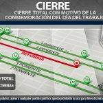 #ReporteVial Consulta vías alternas, ante cierres por actividades programadas el 1 de mayo. #Puebla https://t.co/fVXwYIKmjo