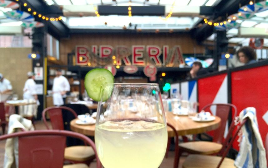 Photos: Mediterranean Vibes Come To The Roof Of @Eataly With Sabbia Https:/