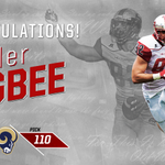 With the 110th pick in the 4th round, the @RamsNFL select... Tyler Higbee! #ProTops https://t.co/dpISoPLoOy
