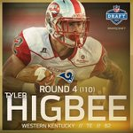 Welcome to Los Angeles, Tyler Higbee! https://t.co/7vjkf87lBe