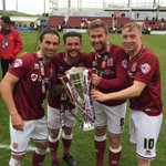 Not a bad season!!! 🏆 @nickyadams10 @_Buchs @ricky_holmes #blackcat #champions https://t.co/ig0KXbuZaQ