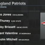 """""""Malcolm Mitchell is a dynamite route runner... This guy looks like a video game."""" - @LRiddickESPN https://t.co/OGHNCZAJ8H"""