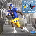 Boom! Tyler Ervin is off the board and headed to Houston! #NFLSpartans #WeAreTexans https://t.co/Iw8YiO8XEg