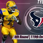 Congrats to #SJSUSpartansFB @tylerervin_ heading to the @HoustonTexans 4th round #119 overall. https://t.co/dGFAVqSEWJ