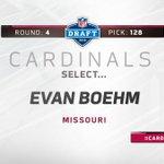 Rd 4 (128), the #AZCardinals select C Evan Boehm (6-2, 309) from Mizzou.  https://t.co/poyGvvf3Cp    #CardsDraft https://t.co/iDDsrxBLUg