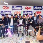 Felicidades @CD9 por el nuevo Record Guinness!! #CD9GUINNESSWORLDRECORDS #Oye897 @OyeSergioMejia https://t.co/0FL1yGKIJo