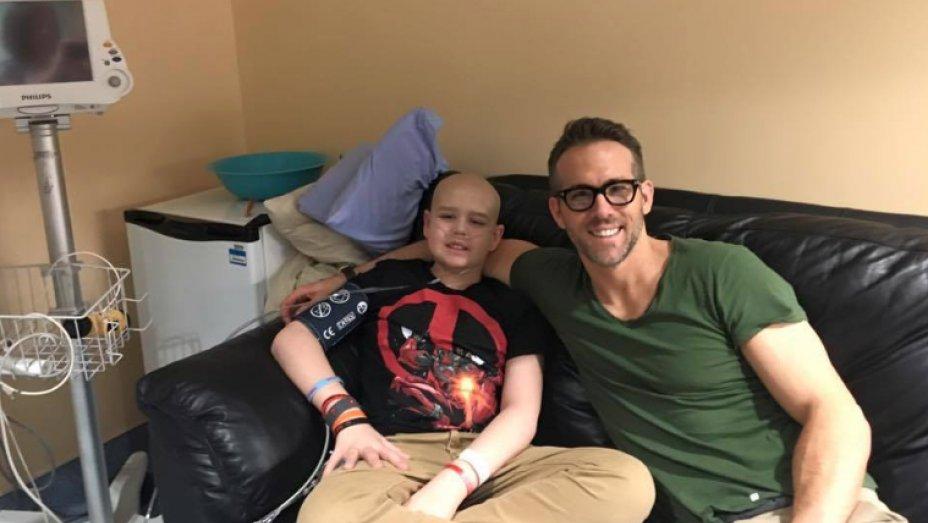 ICYMI Ryan Reynolds pens heartbreaking tribute after 13-y/o Deadpool fan succumbs to cancer